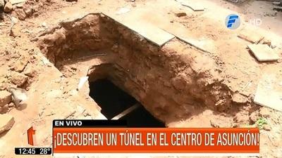 Hallan túnel construido hace 40 años en Asunción
