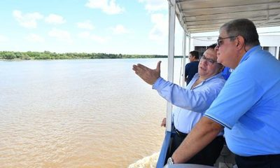 Verificaron zona donde se construirá puente Carmelo Peralta-Puerto Murtinho