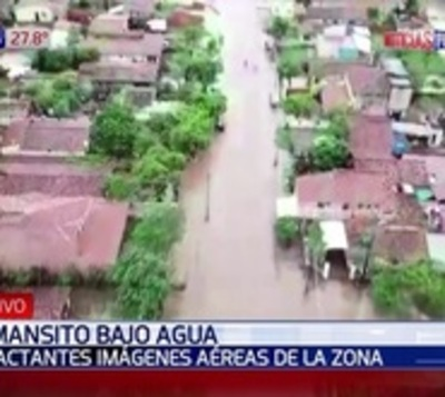 Crítica situación de pobladores de Remansito afectados por inundación