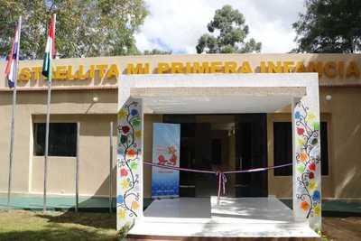 Abren Centro Municipal para desarrollo Integral de Primera Infancia en Ybycuí