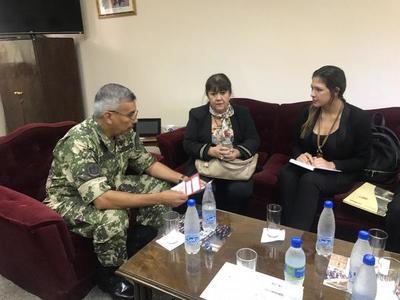SNPP fortalecerá su presencia en unidades militares con más cursos de capacitación