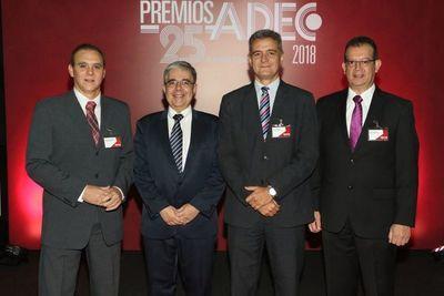 La gala de los Premios ADEC