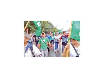 Campesinos llegan hoy a Asunción para tradicional marcha