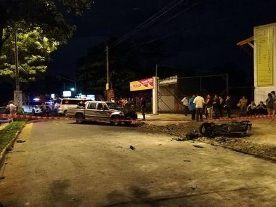 Accidente deja un fallecido en Villa Elisa