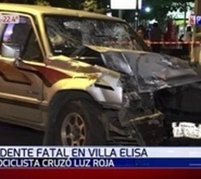 Un muerto tras triple choque en Villa Elisa