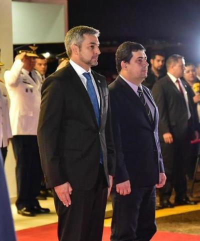 Jefe de Estadoparte con destino a la Argentina