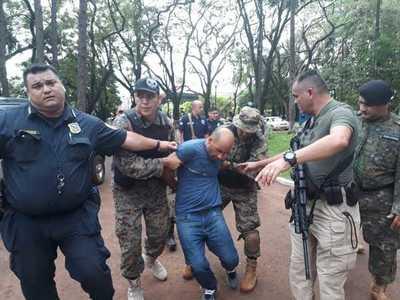 Brasileño escapa de la Dirección de Policía y es recapturado en un colegio privado de CDE