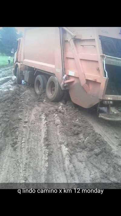 Pésimo estado del camino que conduce al vertedero dificulta recolección de basura