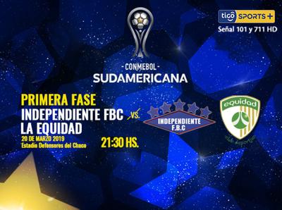 Independiente CG debuta en un torneo copero