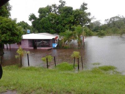 Distritos de Concepción, en estado de emergencia por inundaciones