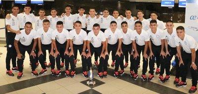 La Albirroja Sub 17 ya se encuentra en Perú