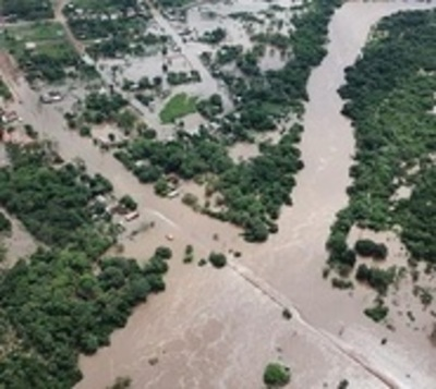 Declaran emergencia en Paso Barreto tras desborde del Aquidabán