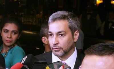 """Mario Abdo pide un mayor """"enfoque"""" para medir el desarrollo"""