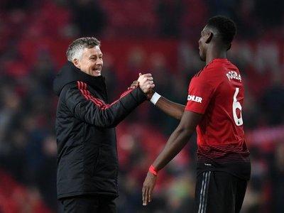 Pogba avala la continuidad de Solskjaer en el Manchester United