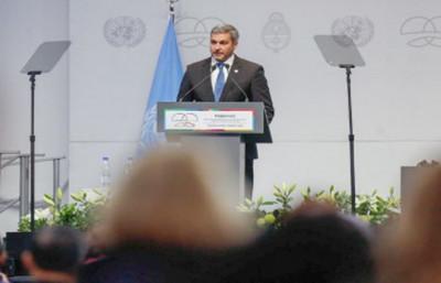 La cooperación internacional es el mejor instrumento para construir alianzas estratégicas, dice Mario Abdo Benítez