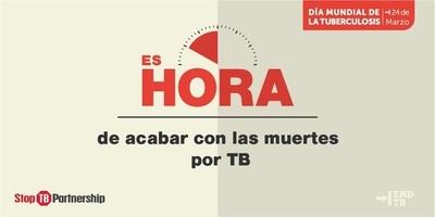 OMS señala que la tuberculosis mata a 4.500 personas por día
