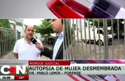 Avanzan investigaciones por caso de mujer desmembrada en Alto Paraná