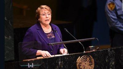 Bachelet pidió a Maduro que garantice labor de la misión de la ONU en Venezuela