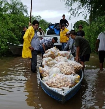 Emergencia: En San Lázaro evacuan a nativos