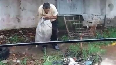 Imputan a hombre por arrojar basura en la vía pública