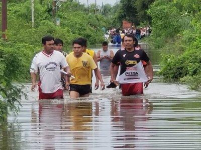 Emergencia departamental en Concepción por inundaciones