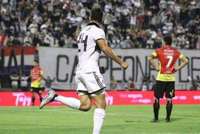 Olimpia rescata un punto frente a Deportivo Santaní y se mantiene invicto