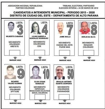 Solo la ANR tendrá que elegir a su candidato en CDE
