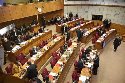 Ya está en desarrollo la sesión de la Cámara Alta