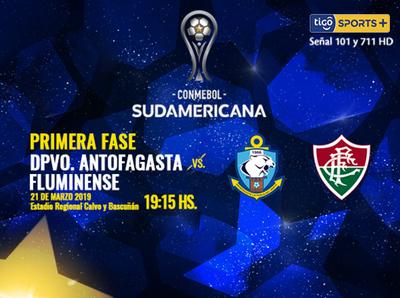 Antofagasta y Fluminense buscan un lugar en la otra ronda