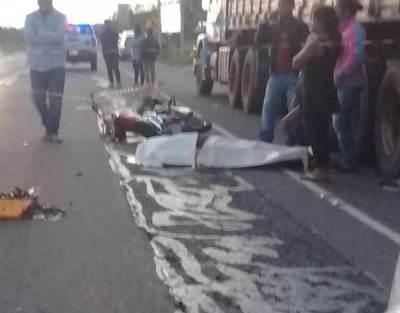 Joven trabajador encontró la muerte sobre ruta Nº 5