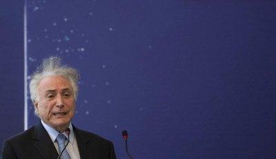 Arrestan al ex presidente brasileño Michel Temer
