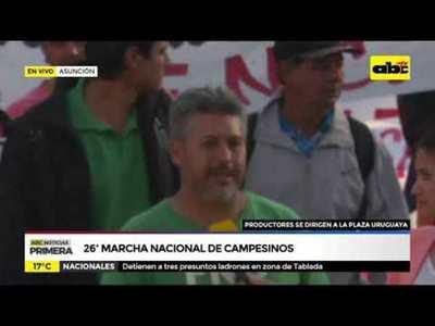 26º marcha nacional de campesinos