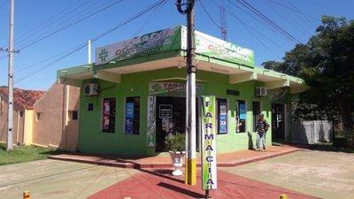 Asaltan dos farmacias en Coronel Oviedo