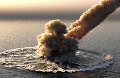 El meteorito que impactó en el mar de Bering y que generó una explosión 10 veces mayor que la bomba atómica