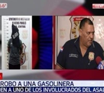 Detienen a presunto autor de robo a gasolinera en Luque