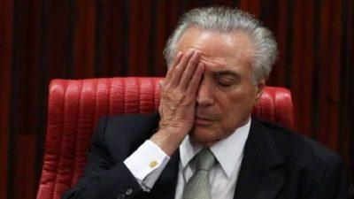 Expresidente del Brasil Michel Temer preso