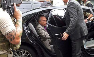 Ex presidente Temer fue detenido por corrupto