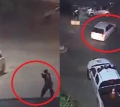 Las imágenes de la persecución y balacera en Luque