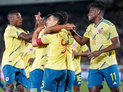 Falcao da el triunfo a Colombia ante Japón en el debut de Queiroz