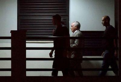 Temer se suma a los cientos de presos y acusados de corrupción en Brasil