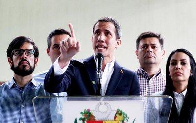 Guaidó advierte que no se dejará amedrentar