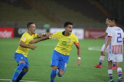 En su estreno, Paraguay perdió ante Brasil