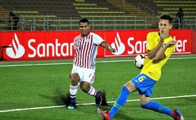 Selección sub 17 pierde en debut ante  Brasil