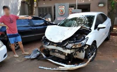 Muere motociclista al ser embestido por un vehículo