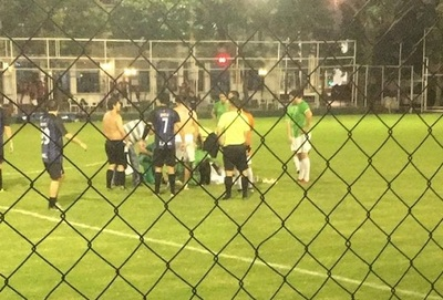 Joven muere en torneo amateur en el Deportivo Sajonia