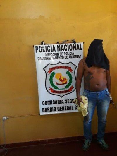 Detienen a un brasileño con orden de captura