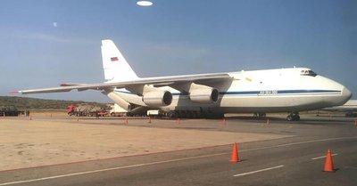 Aviones de transporte de la Fuerza Aérea rusa aterrizaron en Caracas