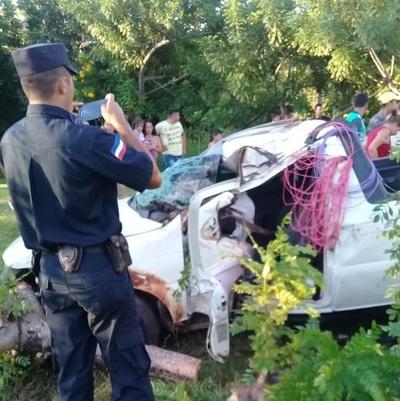 Grave accidente en Yby Ya´u deja tres muertos y varios heridos