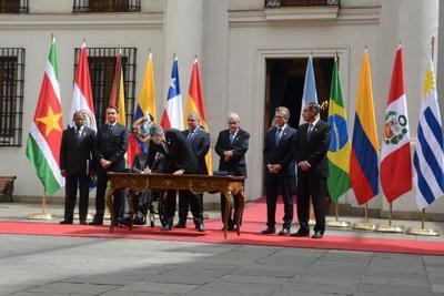 Paraguay integrante de nueva coalición de la región