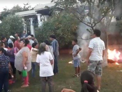 Atacaron casa de Milda Rivarola en Quyquyho